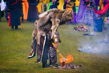 шаманы на Байкале