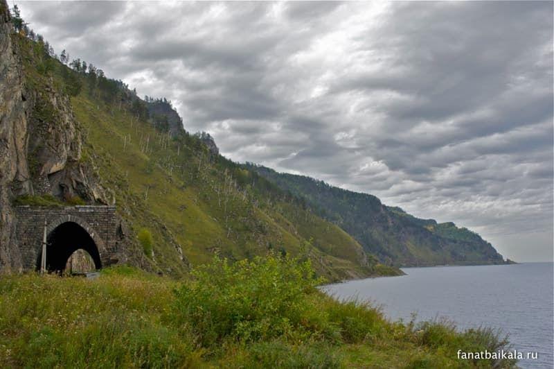 Фотофан №3 Кругобайкальская железная дорога