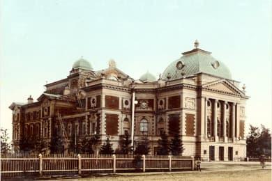 Драмтеатр в Иркутске