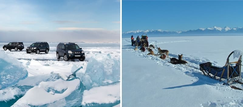Ледовый сезон на Байкале