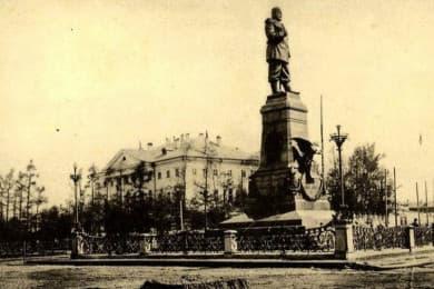 Памятник Александру 3
