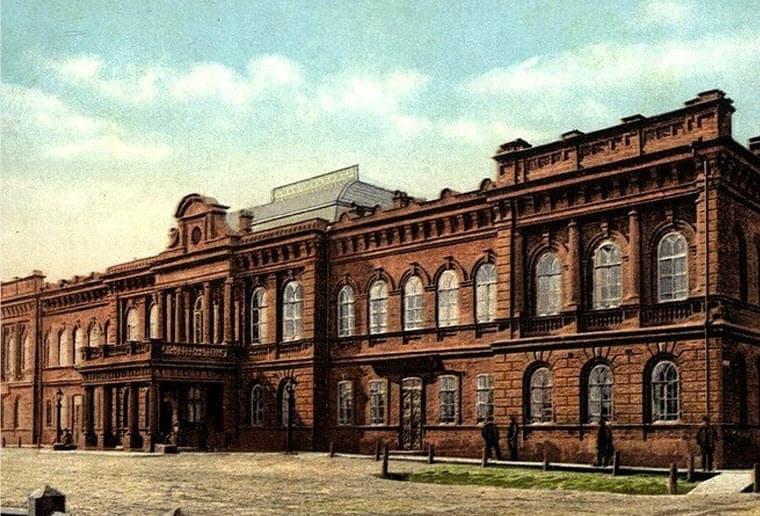 Здание Администрации иркутска