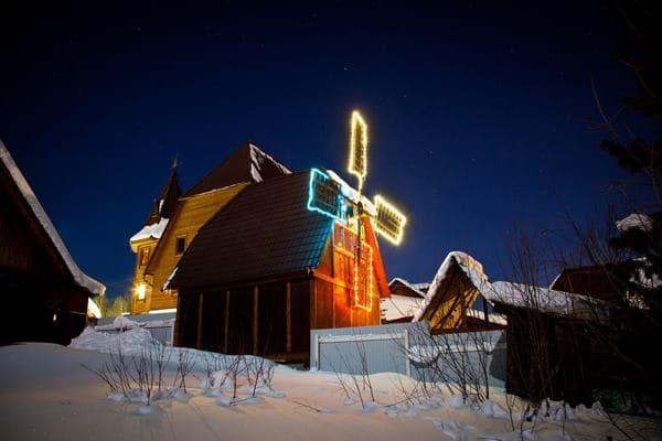 отель мельница в Байкальске