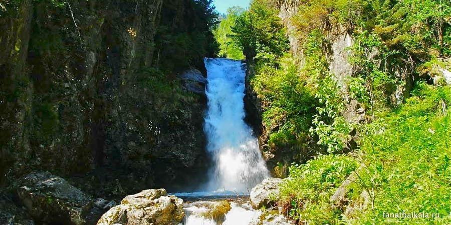 водопады реки грамотуха