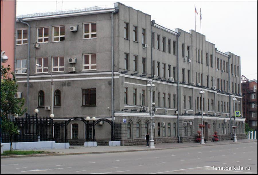 здание городской думы Иркутска