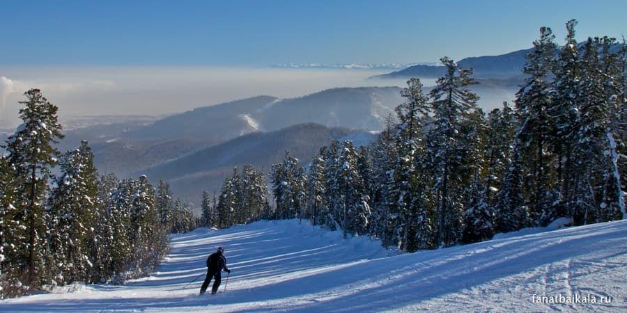 горнолыжный курорт в Байкальске