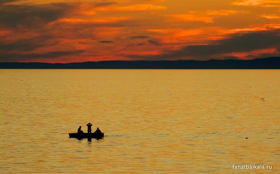 закаты на Байкале