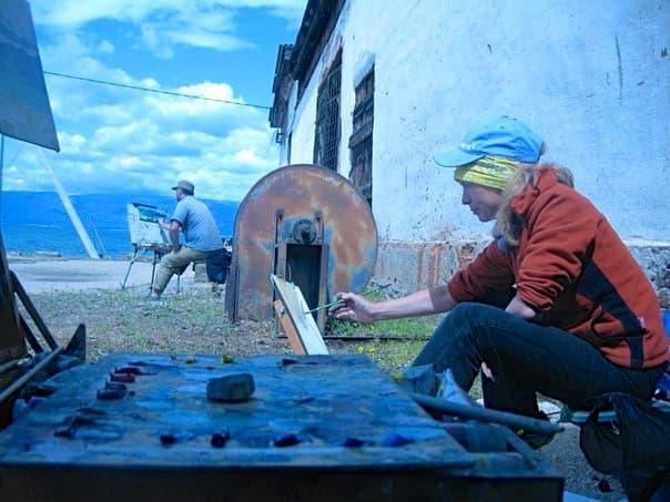 художники на Байкале