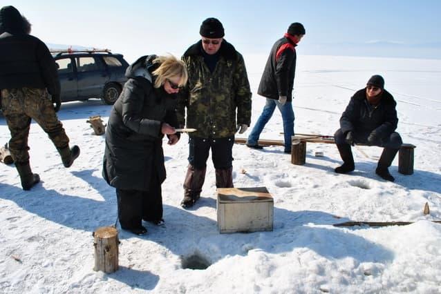зимний отдых на Ольхоне