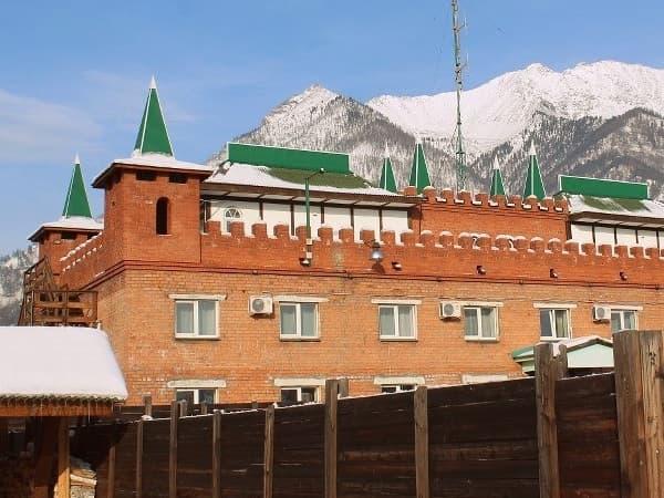 Замок горного короля в пос. Аршан