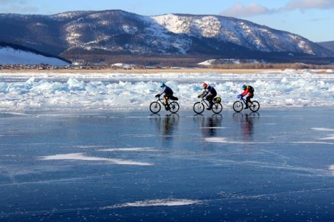 зимняя экстремальная гонка