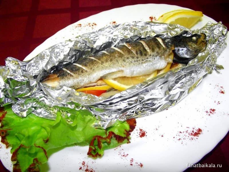 рыба на Байкале