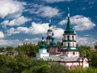 крестовоздвиженская церковь иркутск
