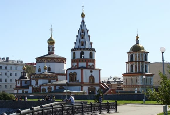 кафедральный собор иркутск