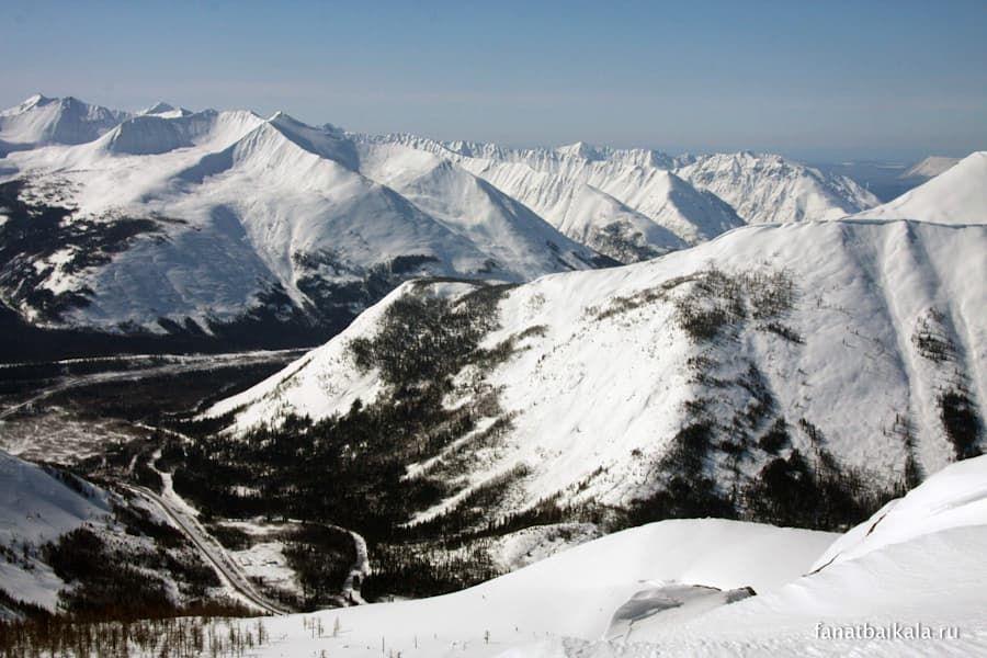 горнолыжный курорт гора