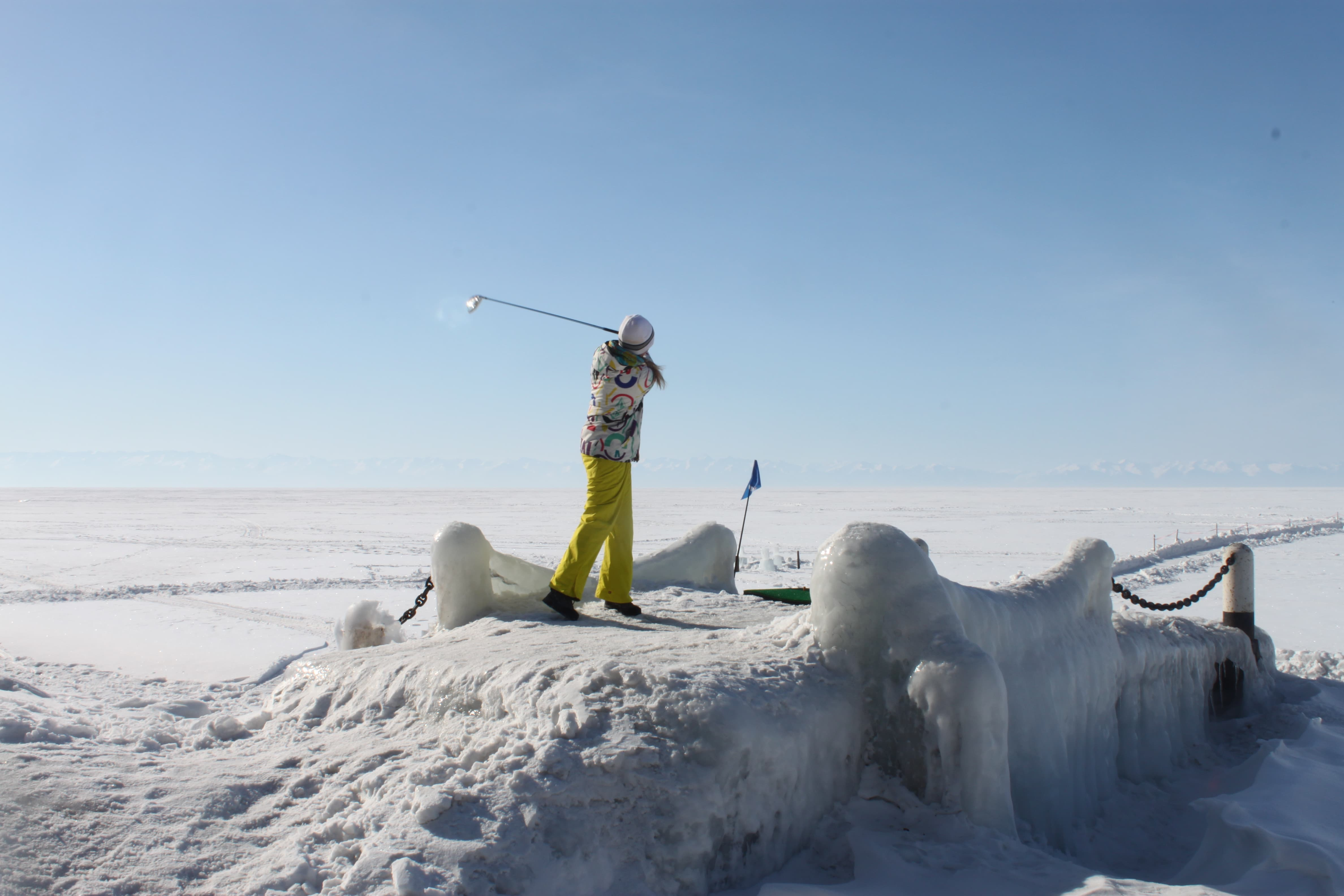 гольф на Байкале