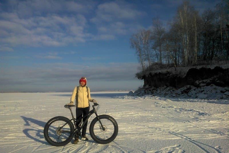 велосипед на Байкале