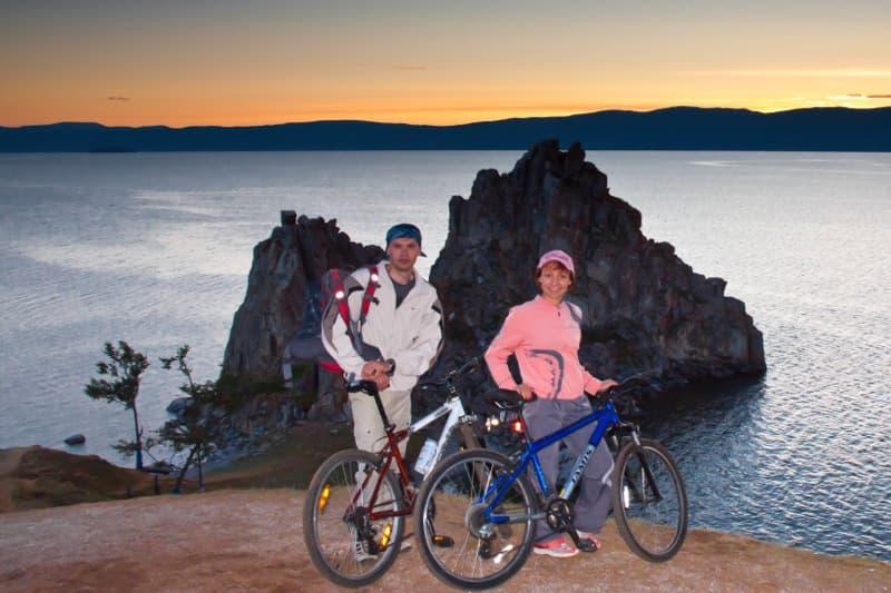 На велосипедах по острову Ольхон