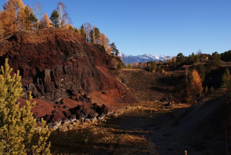 потухшие вулканы аршан