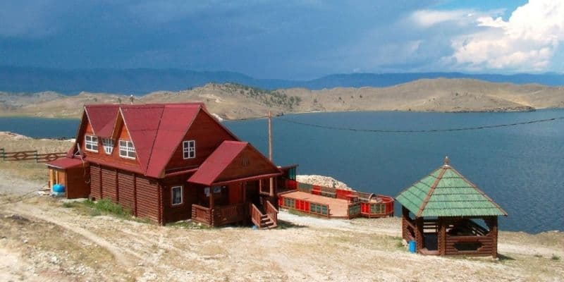 база отдыха новая на Байкале