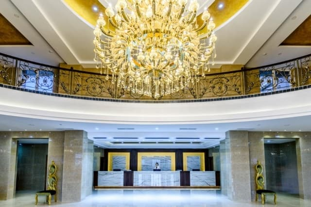 Гостиничный комплекс Байкал-Северное море, ресепшн