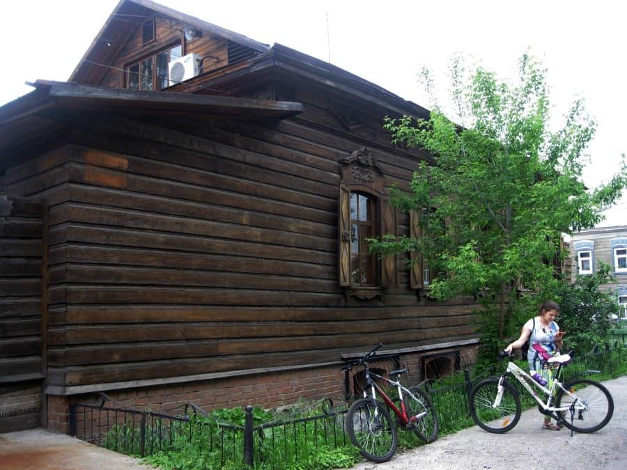 деревянное зодчество в Иркутске