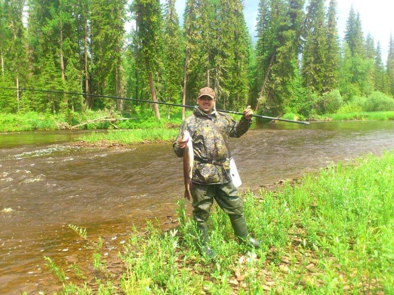 рыбалка на Лене