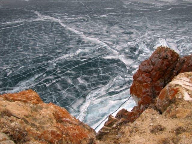 Мыс Хобой на острове Ольхон