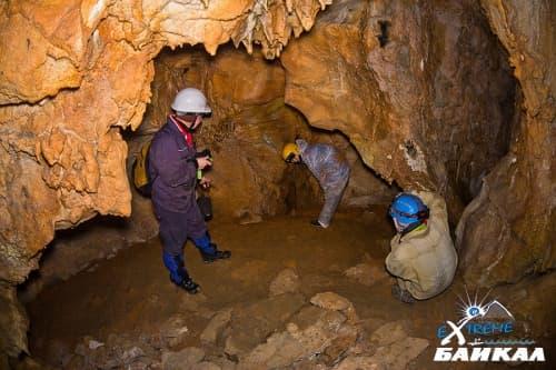 Пещера Охотничья в Большом Голоустном