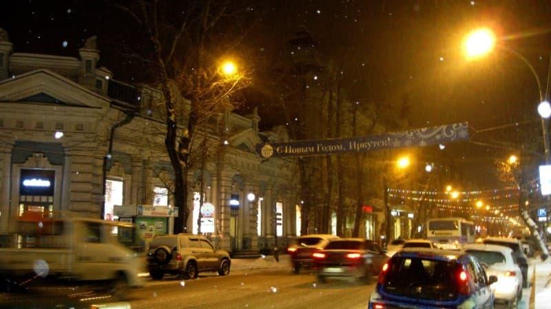 новый год в Иркутске