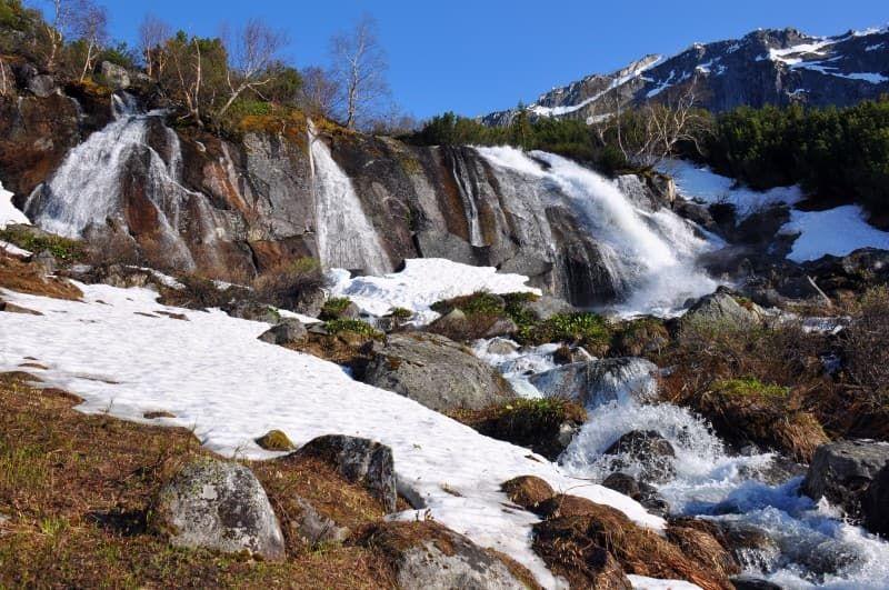 Водопад на реке Шумилиха