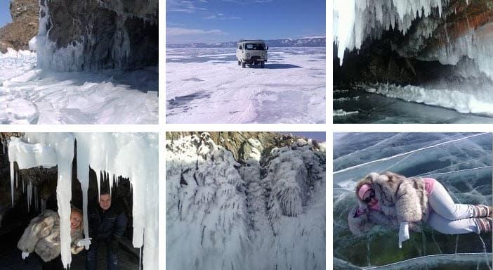 отдых на Байкале зимой