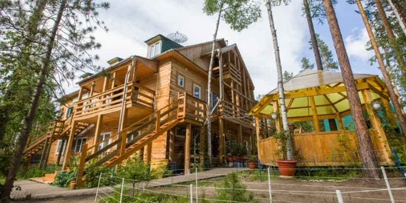 дом творчества байкал листвянка