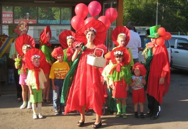 фестиваль клубники в Байкальске
