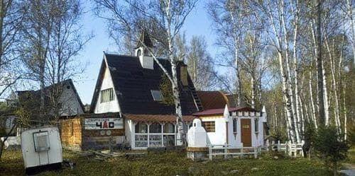 домик художника