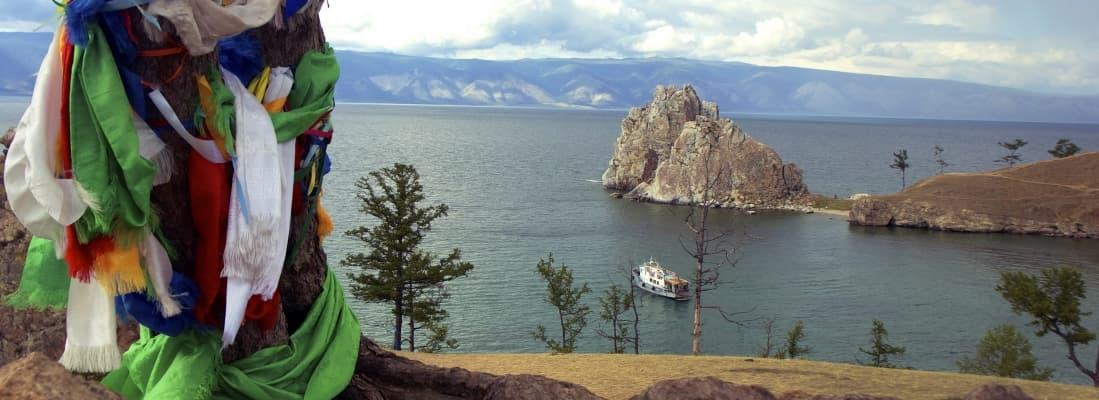 Шаманка на Байкале, остров Ольхон