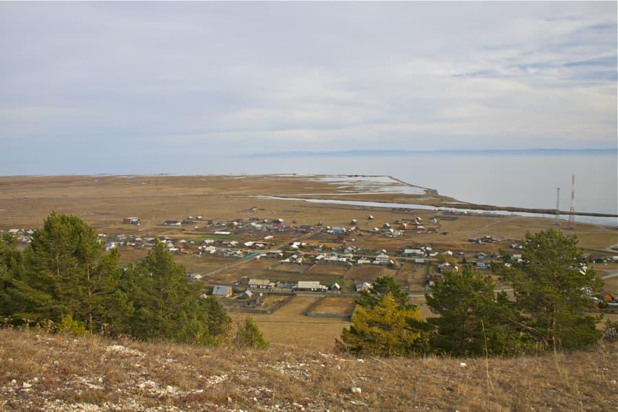 Большое Голоустное, Байкал