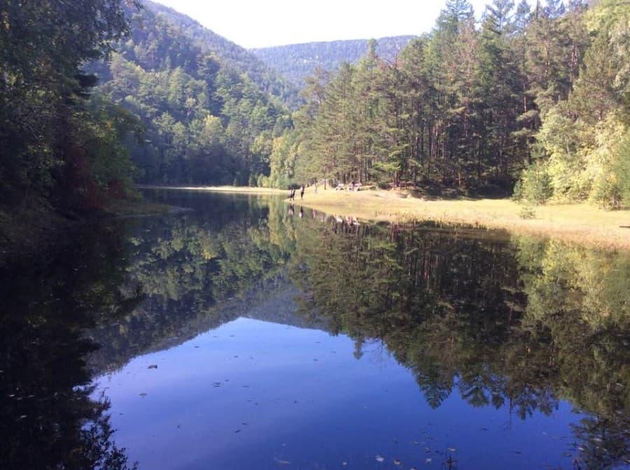 Сухое озеро в Большом Голоустном наполнилось в 2016 году