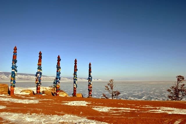 Сэргэ - места силы на Байкале