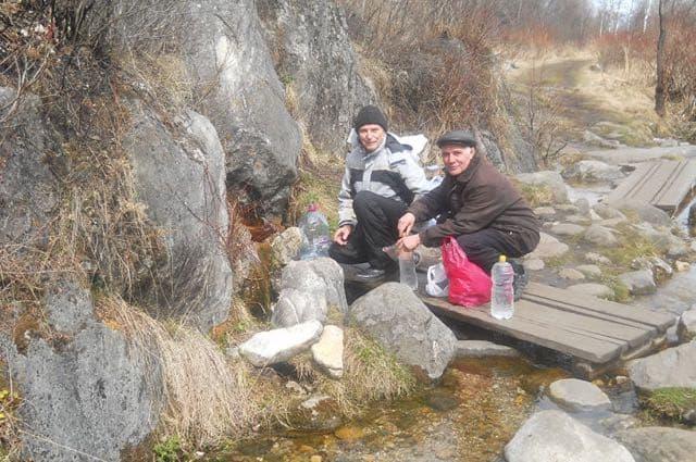 База отдыха Серебряный источник на Байкале