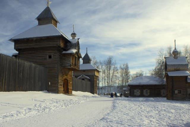Музей Тальцы - сибирская деревня