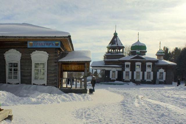 Этнографический музей под открытым небом - Тальцы (сибирская деревня)