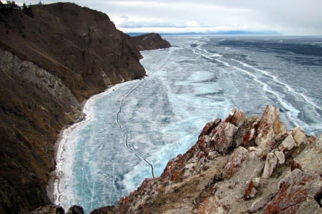Мыс Хобой - самая северная оконечность острова Ольхон
