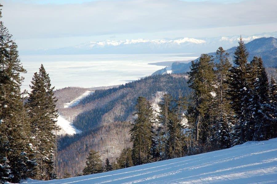 Горнолыжный курорт в Байкальске Гора Соболиная