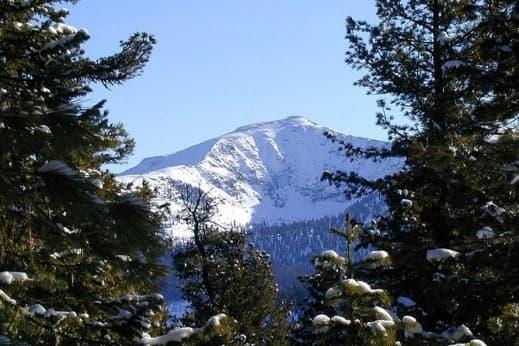 Тайга и горные вершины