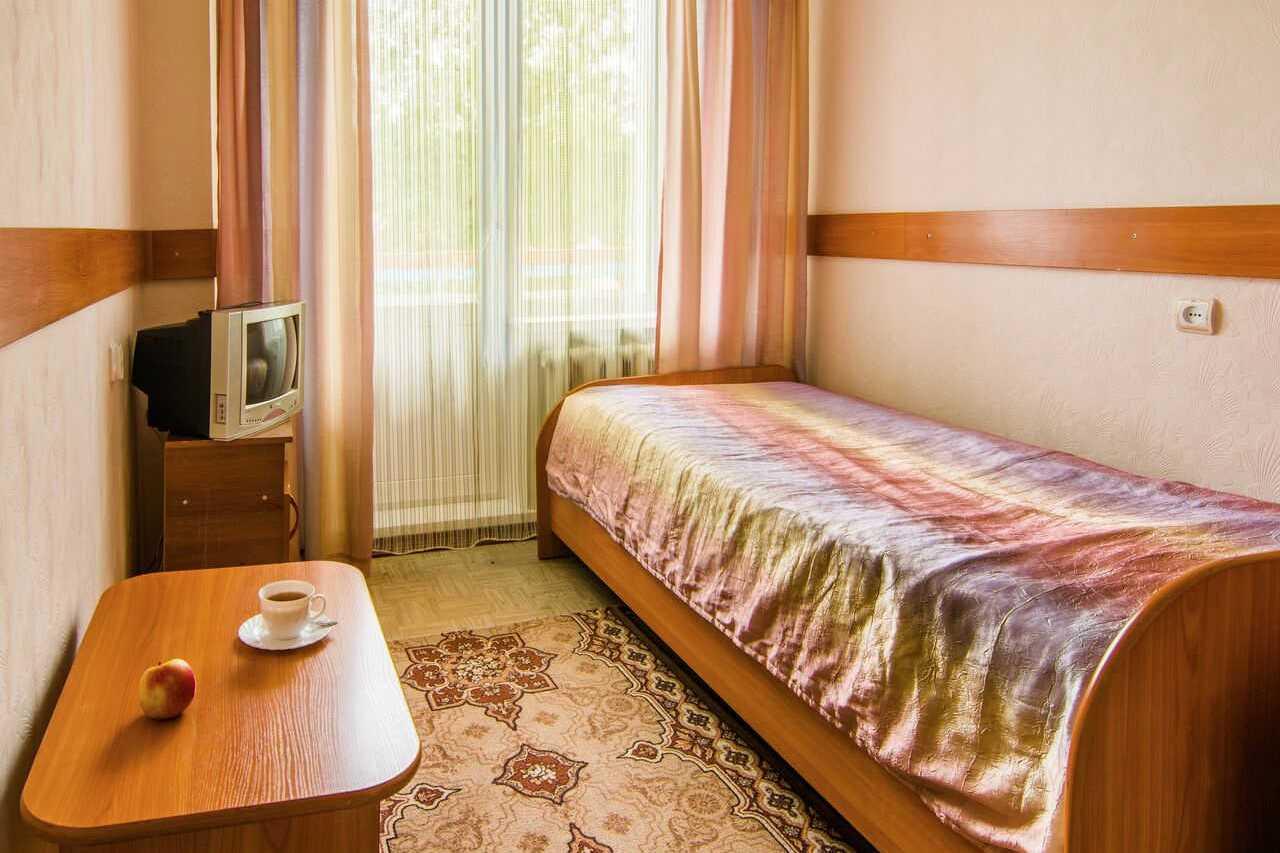 1-местный номер в секции, гостиница Соболиная в г.Байкальске