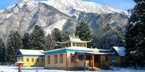 Будийский дацан в пос. Аршан