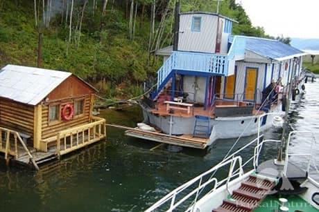 плавающий отель Экотур