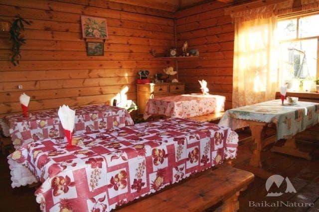 турбаза Байкальский прибой