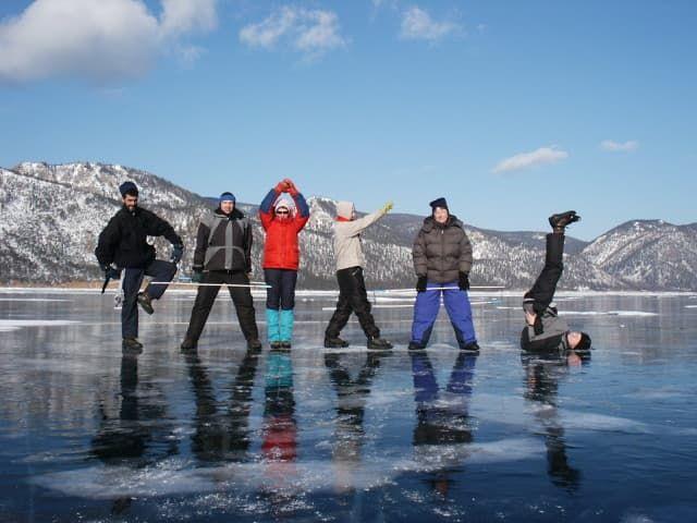 Зимний тур на Байкал